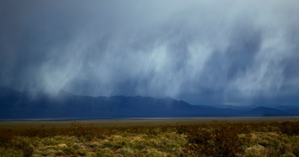 Storm In Valley, Near Death Valley and Beatty