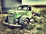 Truck In Field, Palouse, WA area