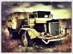 Old Truck at Gravel Pit, Noblesville, IN