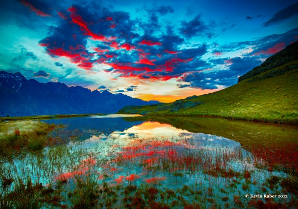 Sunrise, Deer Park, Queenstown, New Zealand