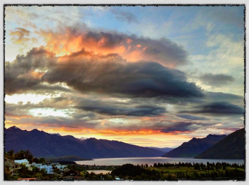 Sunrise, Queenstown, New Zealand