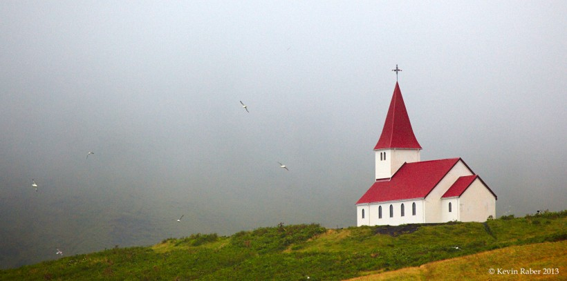 Church on Hill, Iceland