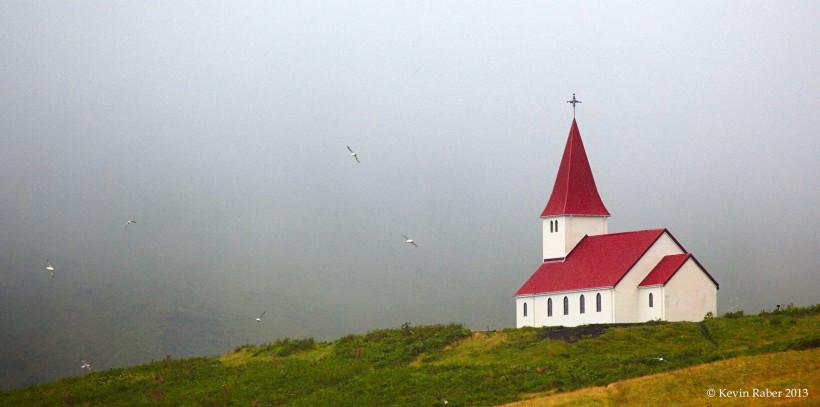 Church on Hill, Iceland