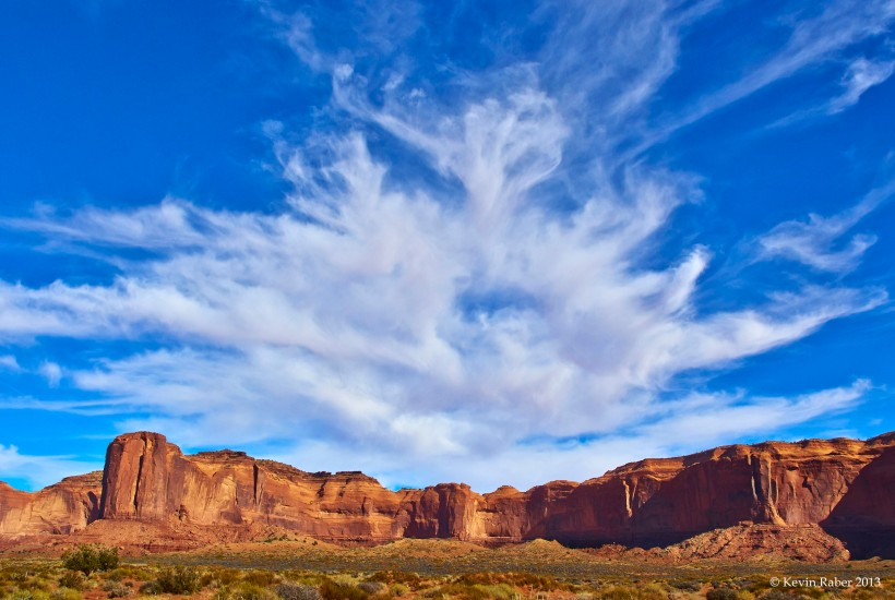 Big Sky in Monument Valley