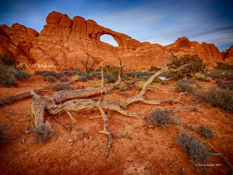 Skyline Arch, Arches NP, Utah