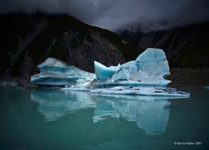 Iceberg At Mt. Cook, New Zealand