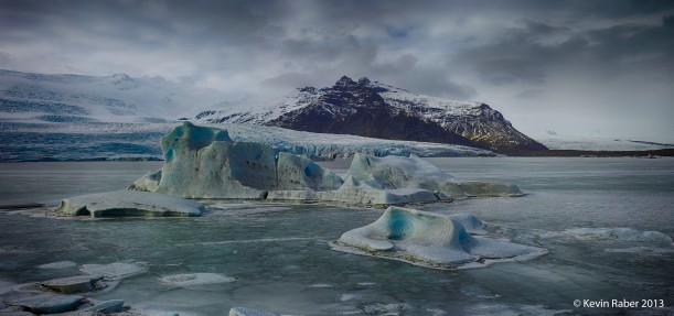 Small Glacier Bay, Iceland