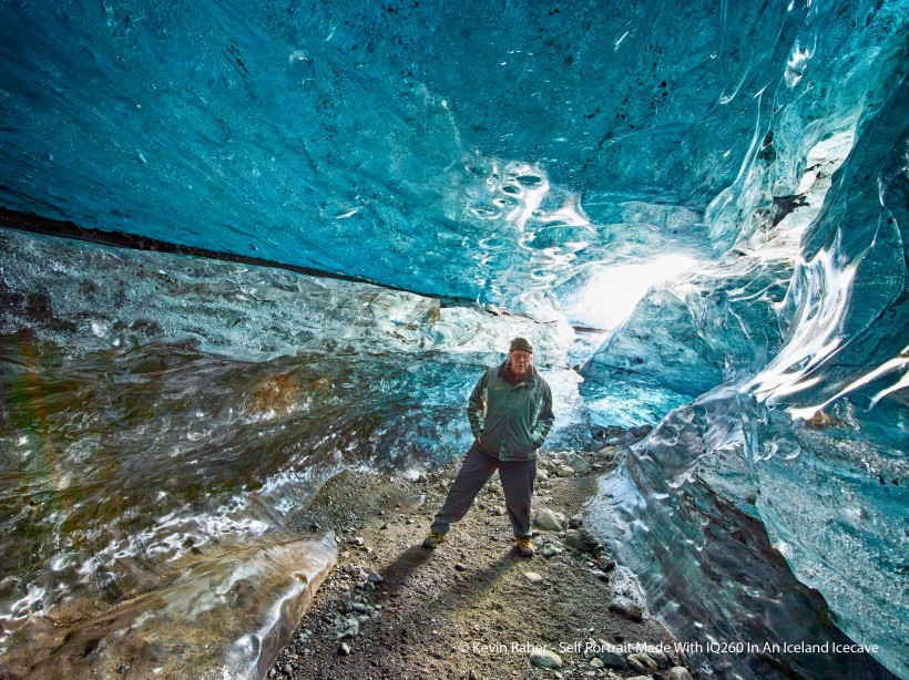 Kevin Raber, In Ice Cave, Iceland