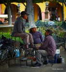 Shoe Shine in San Miguel Square