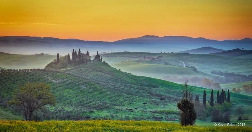 Tuscany, Italy - Sunrise