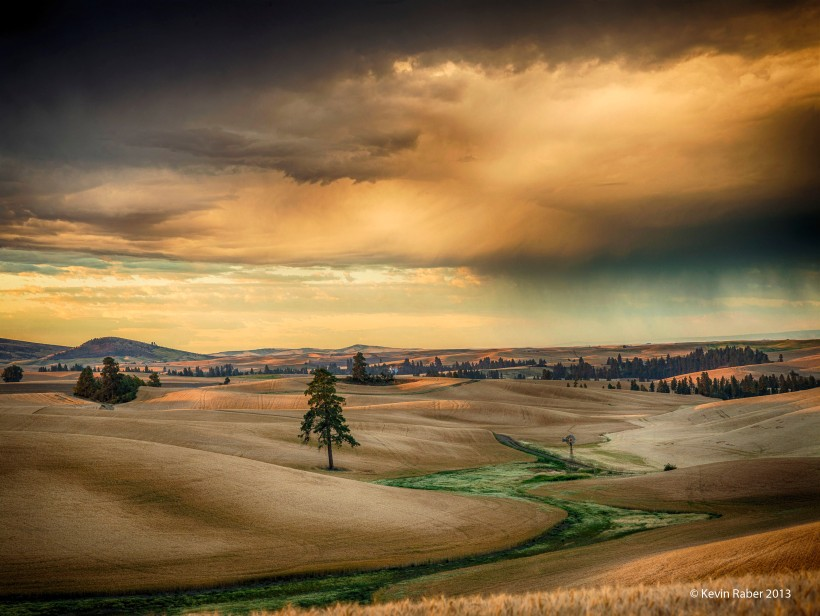The Palouse at Sunrise, Washington