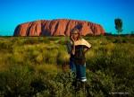 Ayers Rock Sunset, Austrailia