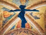 Crucifix In Tuscany Church