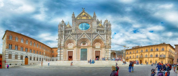 The Cathedral In Siena, Tuscany region of Italy