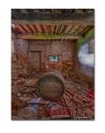 Barrel Room, Abandoned Farm House, Tuscany, Italy