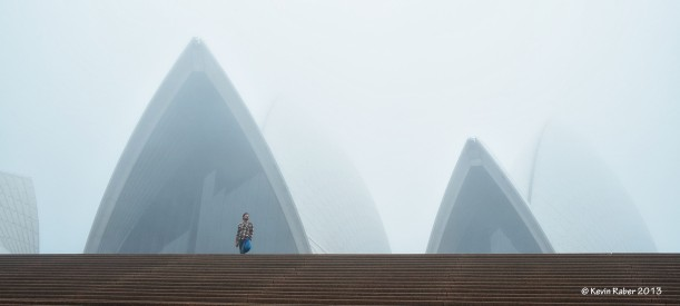 Foggy morning in Sydney
