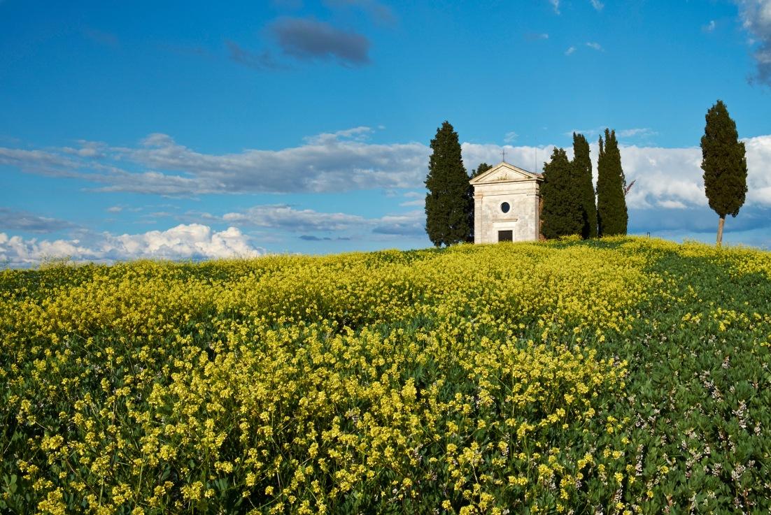 Little Chapel, Tuscany Italy