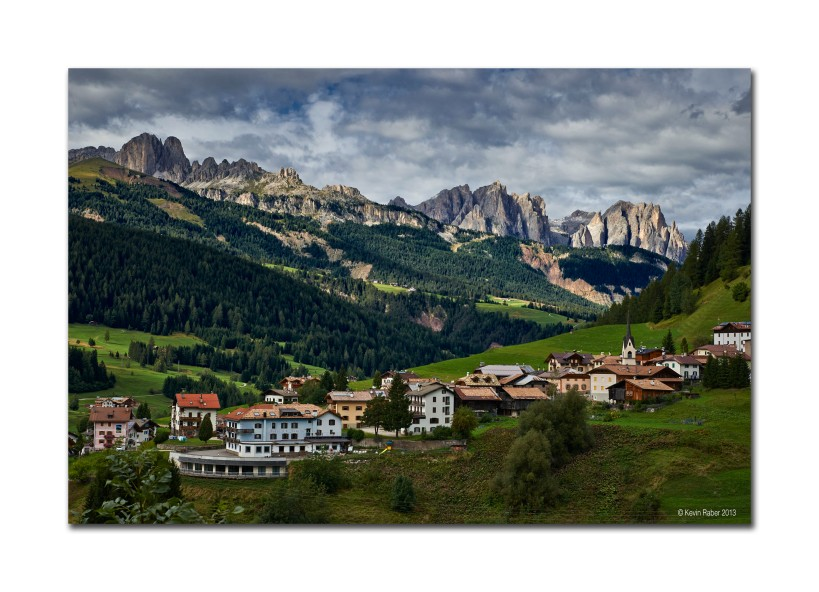 Picture Postcard Definion of the Dolomites