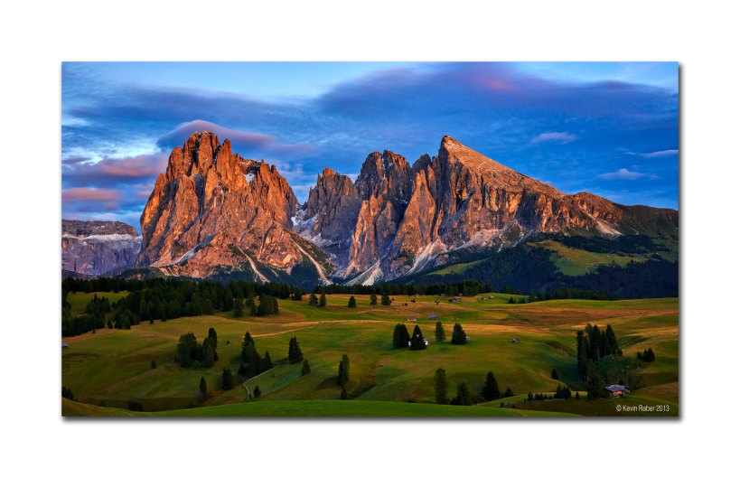 After Glow - The Dolomites
