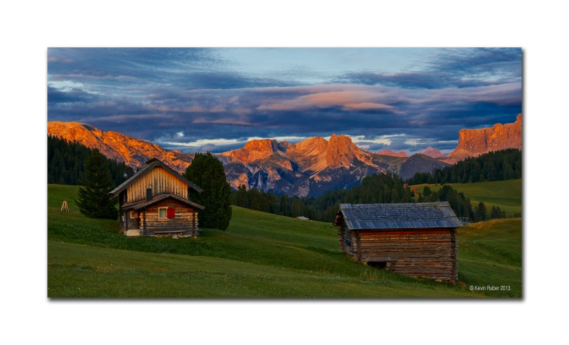 Dolomites After The Sun Goes Down