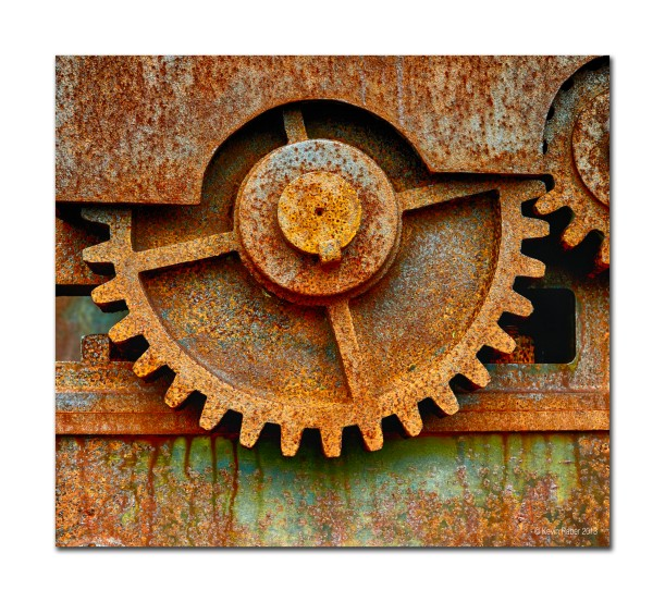 Rusty Gear, Svalbard, Norway