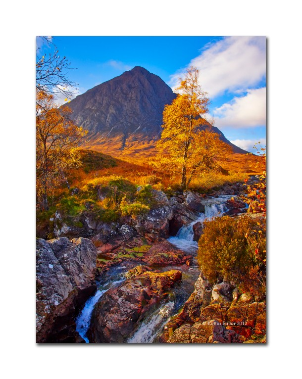 Fall in Glencoe, Scotland