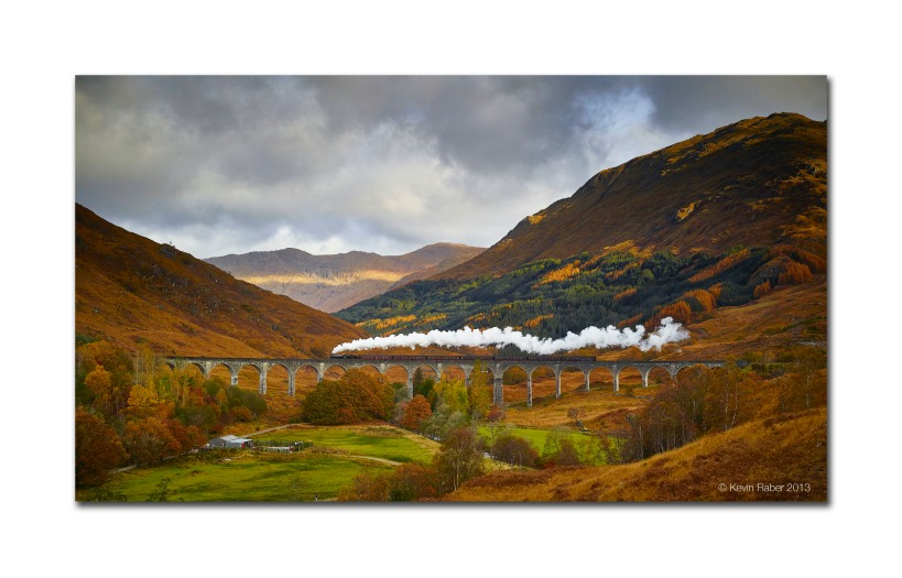 Hogwarts Train, Glenfinnan Viaduct, Loch Sheil, Scotland