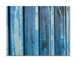 Blue corrugated
