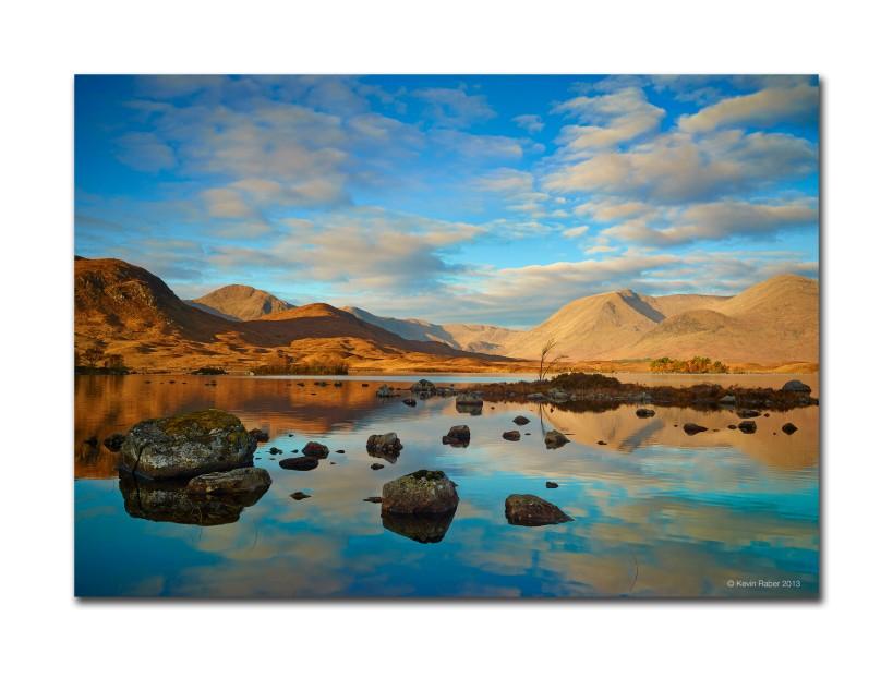 Sunrise in Glencoe Scotland