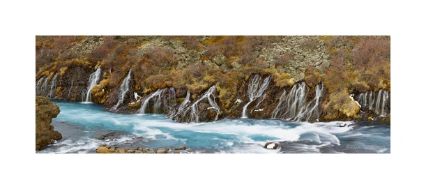 Hravnfossor Lava Falls - Iceland, 2013