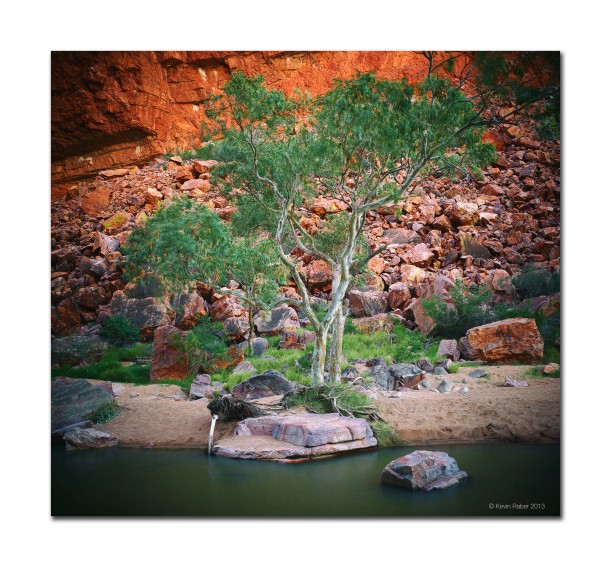 One of many gorges in Central Australia
