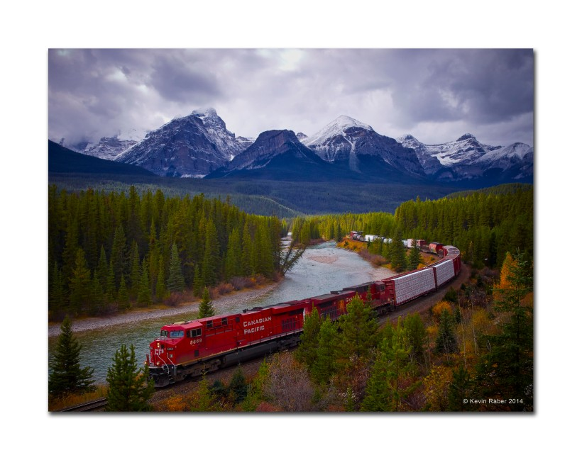Murrant's Curve, Going South, Canadian Rockies