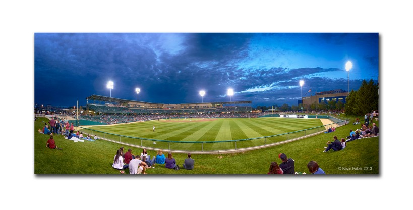 Pano At The Indianapolis Indians Game