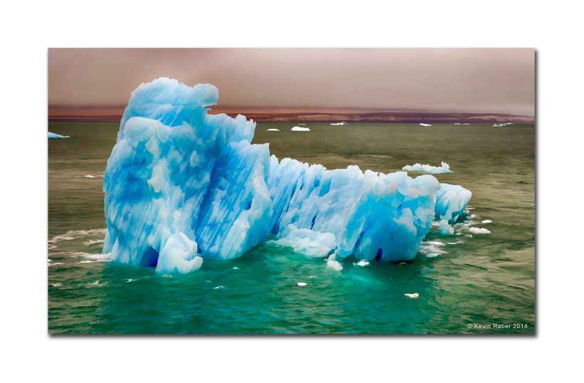 Painterly Iceberg