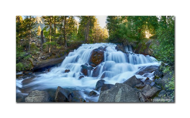 Waterfall PAno, Yosemite NP