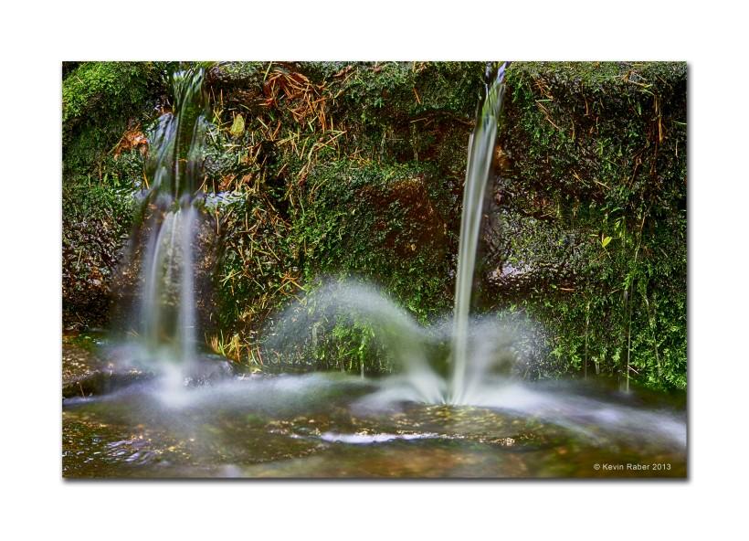 Gentle Waterfall, Fern Spring, Yosemite NP