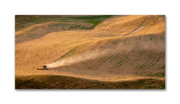 It's A Lonely Job, In The Palouse, Fuji XT-1 55-200mm zoom