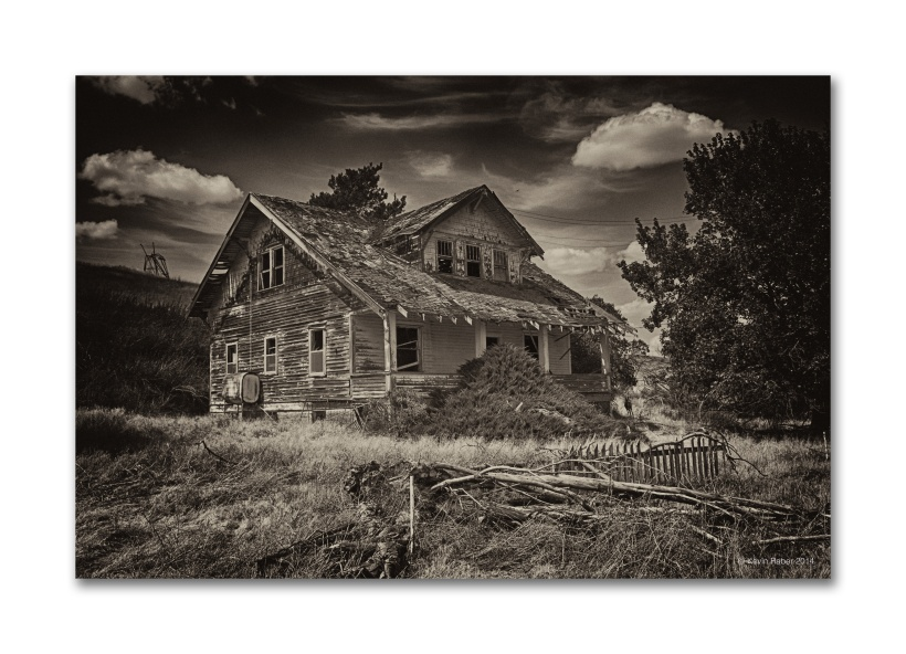 Old House In The Palouse