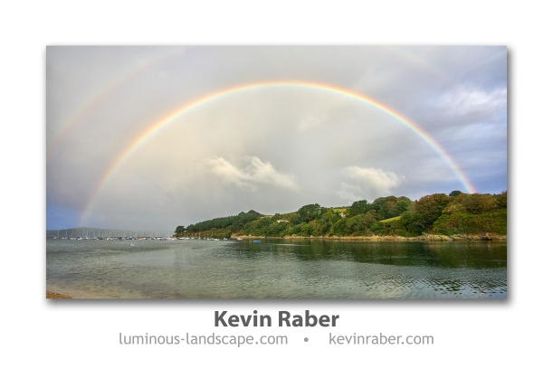 A Cornish Rainbow, Cornwall, England