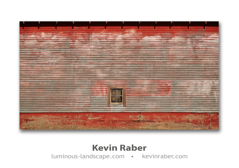 Red Barn and Window
