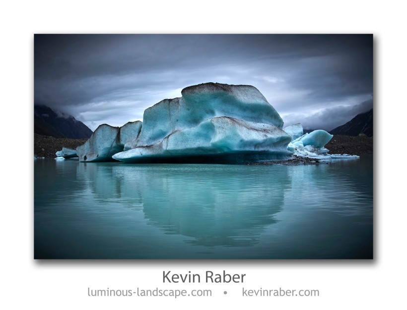 Tasman Glacier Terminal Lake by Aoraki/Mount Cook, New Zealand Panasonic GH2, 7-14mm zoom at 14mm 1/500th sec. at f/8, ISO 160