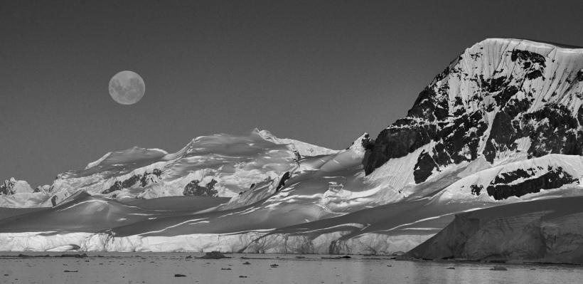Moonrise #12 Antarctica