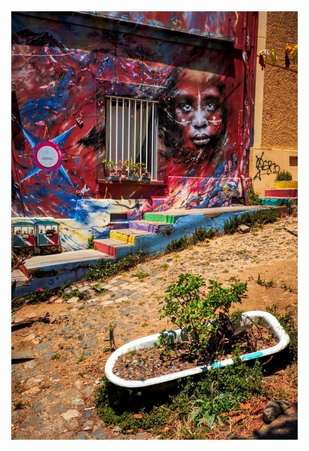 Street Art - Valparaiso, Chile
