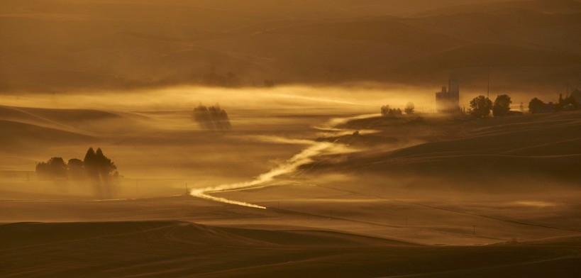 The Palouse - Sunset with Sony a7r II and Tamron 150-600mm