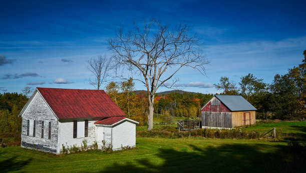 Two Barns, Vermont
