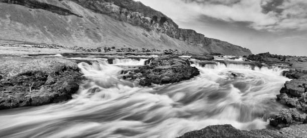 Raber Foss, Iceland