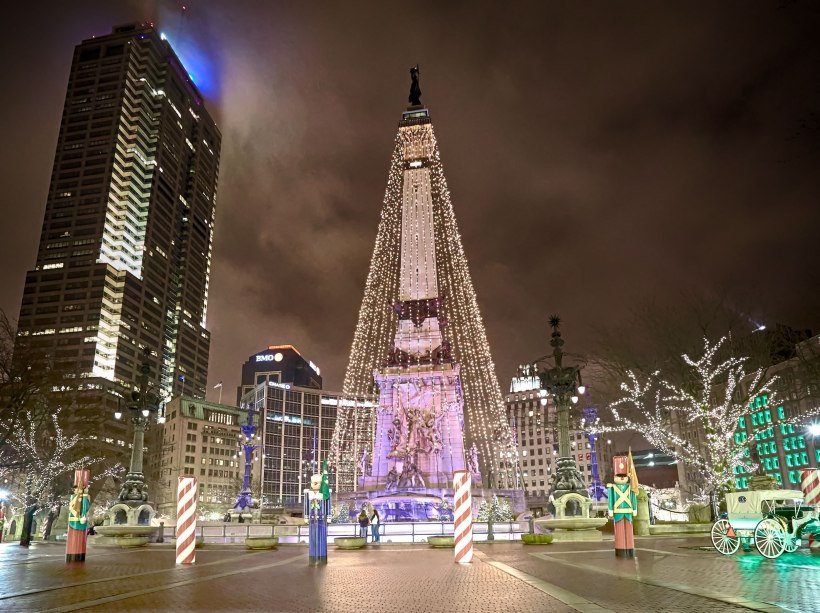 Circle Of Lights, Indianapolis, IN