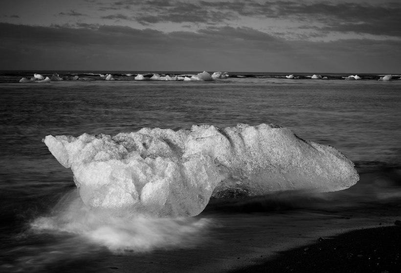Iceberg Beach, Iceland