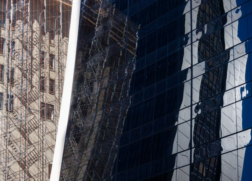 New York City, Building Abstract